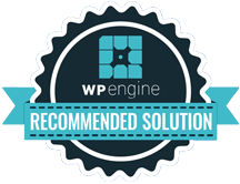 WP Engine Recomended Solutions Badge
