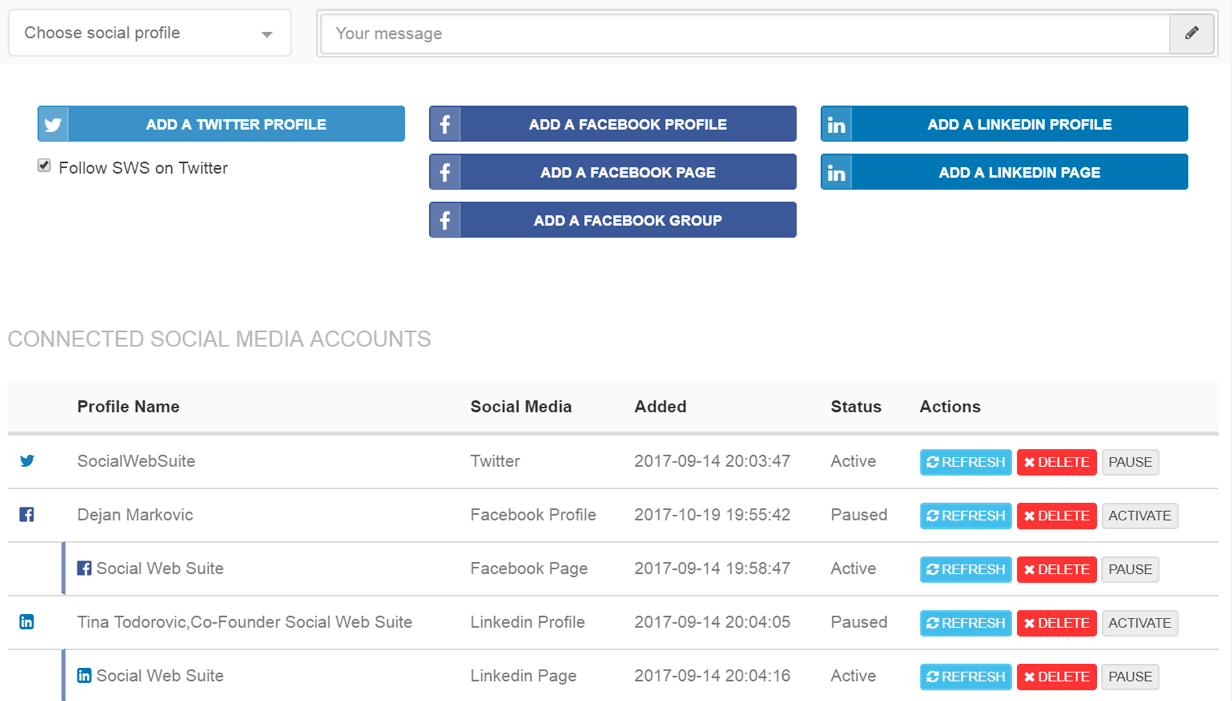 THE BEST SOCIAL MEDIA MANAGEMENT TOOL THAT SAVES YOU TIME