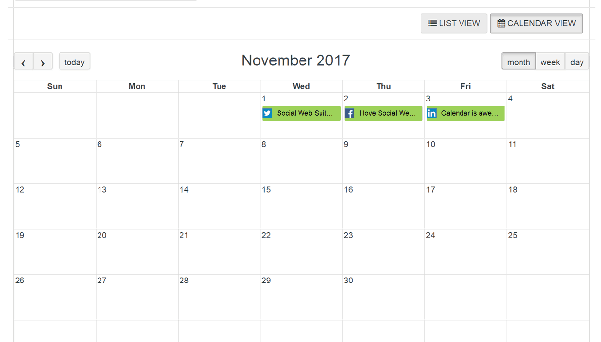 SCHEDULE A MONTH WORTH OF CONTENT IN A MATTER OF MINUTES