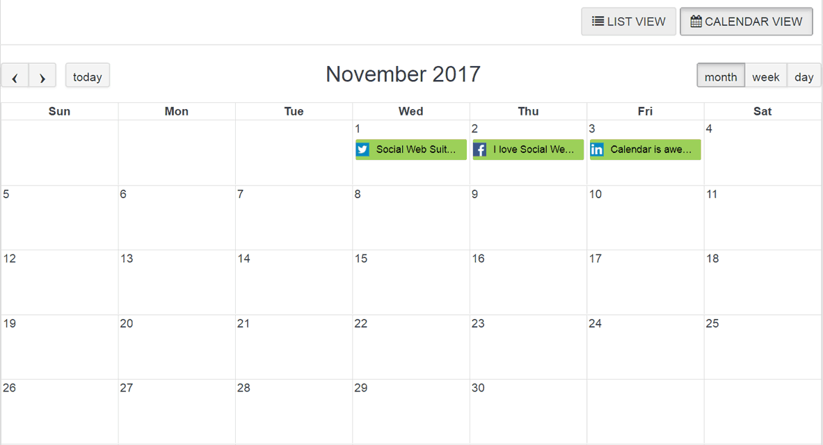 Save time by Organizing Your entire Social Strategy From One Social Media Marketing Calendar